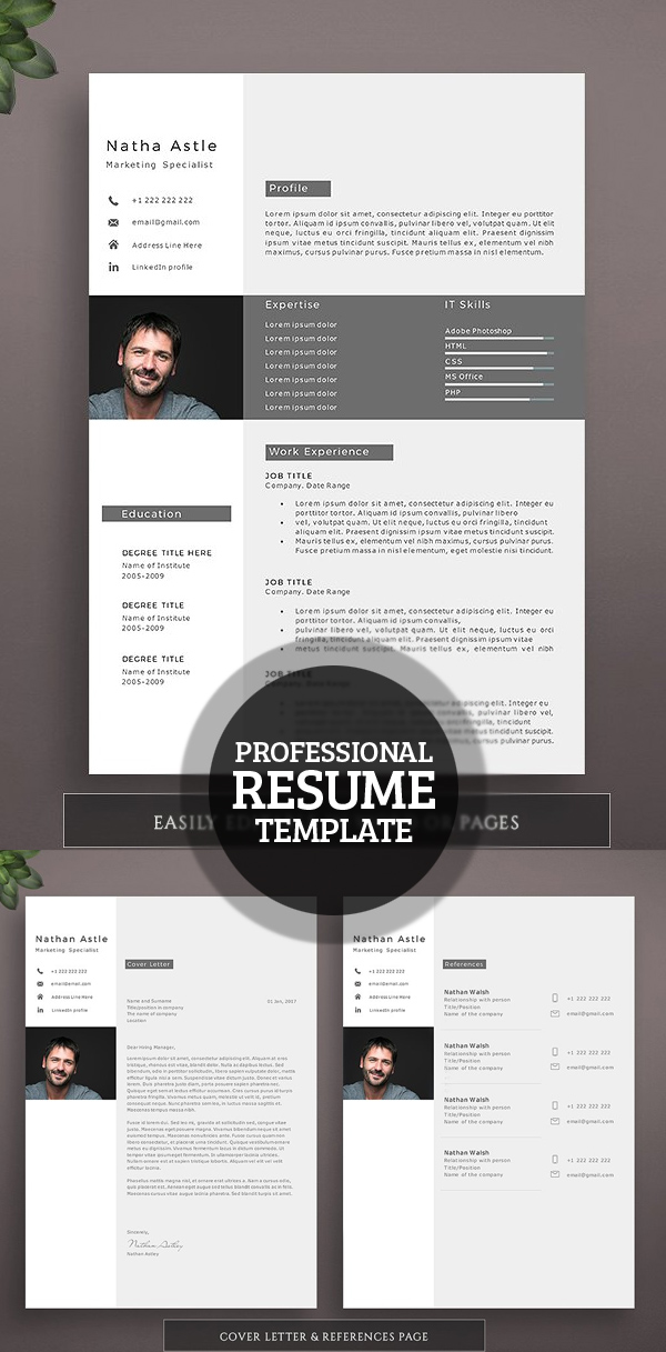 50 Best Resume Templates For 2018 - 26