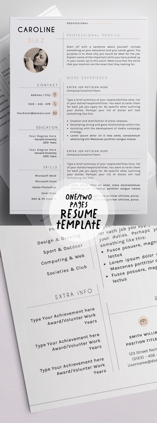 50 best resume templates for 2018 43 - Resume Templates 2018