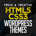 New Fresh HTML5 WordPress Themes