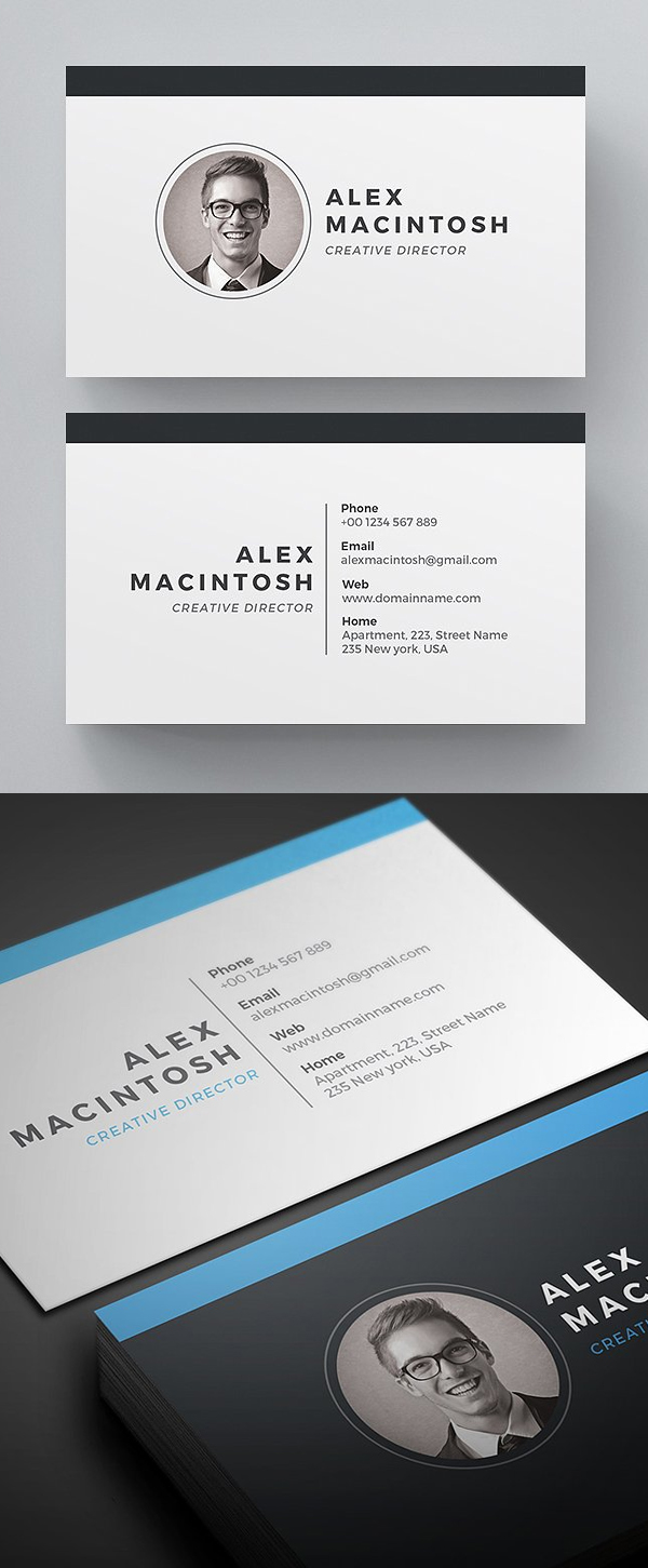 Super Clean Business Card Template