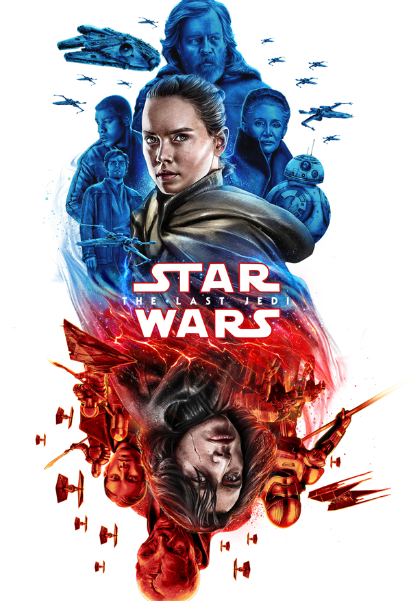 Amazing Illustration of Star Wars: The Last Jedi 21
