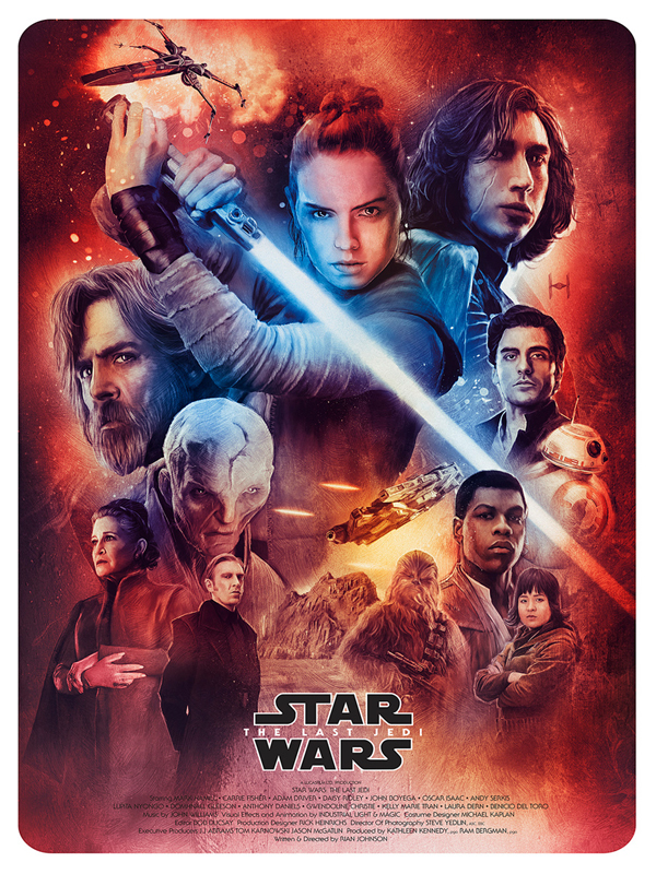 Amazing Illustration of Star Wars: The Last Jedi 5