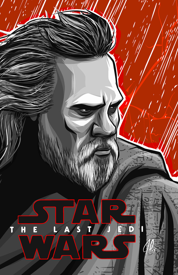 Amazing Illustration of Star Wars: The Last Jedi 7
