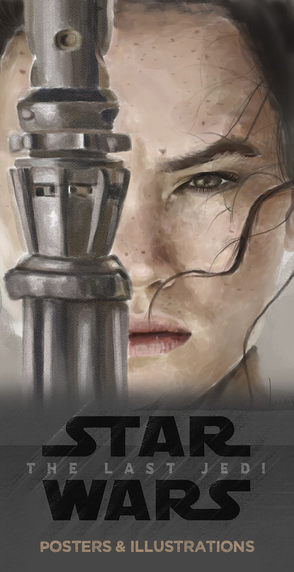 Amazing Illustrations of Star Wars: The Last Jedi