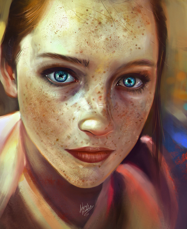 Amazing Digital Illustrations and Painting Art by Ahmed Karam - 10