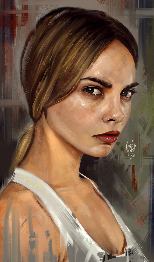 Amazing Digital Illustrations and Painting Art by Ahmed Karam - 20