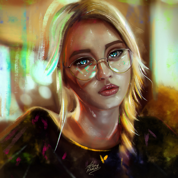 Amazing Digital Illustrations and Painting Art by Ahmed Karam - 21