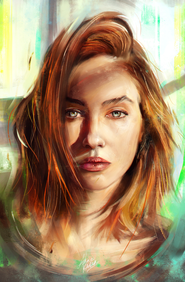 Amazing Digital Illustrations and Painting Art by Ahmed Karam - 3