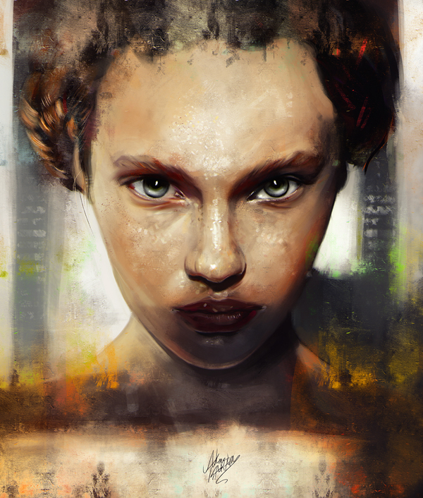 Amazing Digital Illustrations and Painting Art by Ahmed Karam - 7