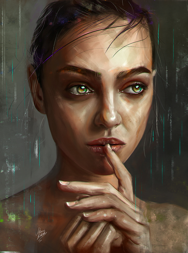Amazing Digital Illustrations and Painting Art by Ahmed Karam - 8