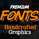 Custom Fonts – 83 Fonts with 1800+ Amazing Handcrafted Graphics