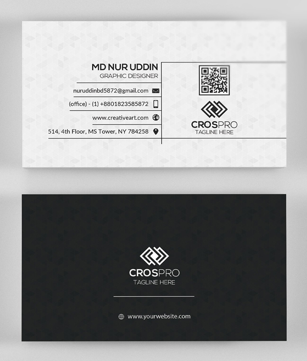 Elegant Business Cards Psd Templates Design Graphic Design
