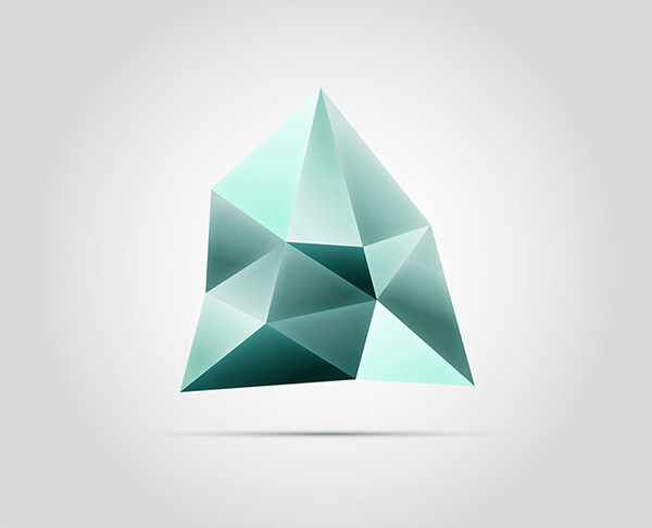 How To Create a Faceted Gemstone Logo Graphic in Adobe Illustrator