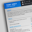 Freebie – Simple Resume Template with Cover Letter