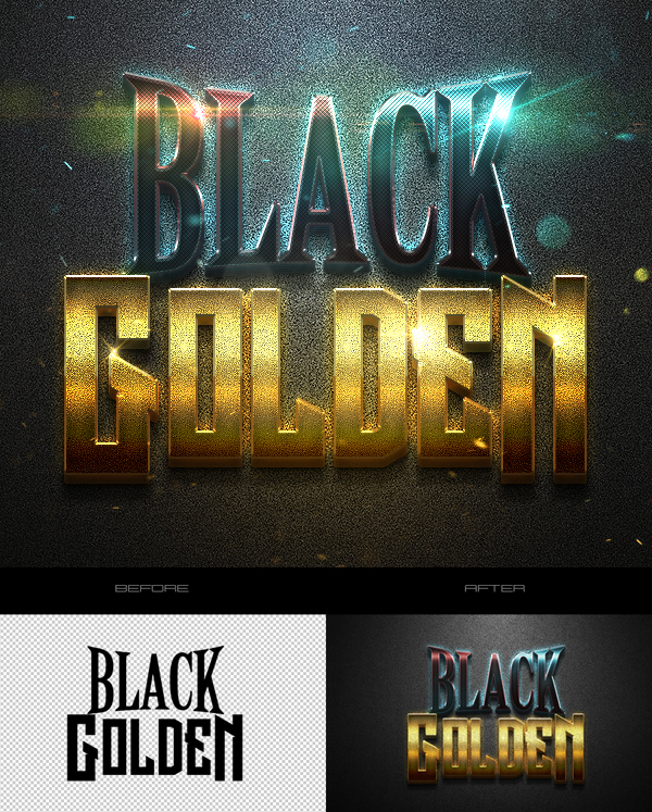 Freebie: Fantastic 3D Text Effects