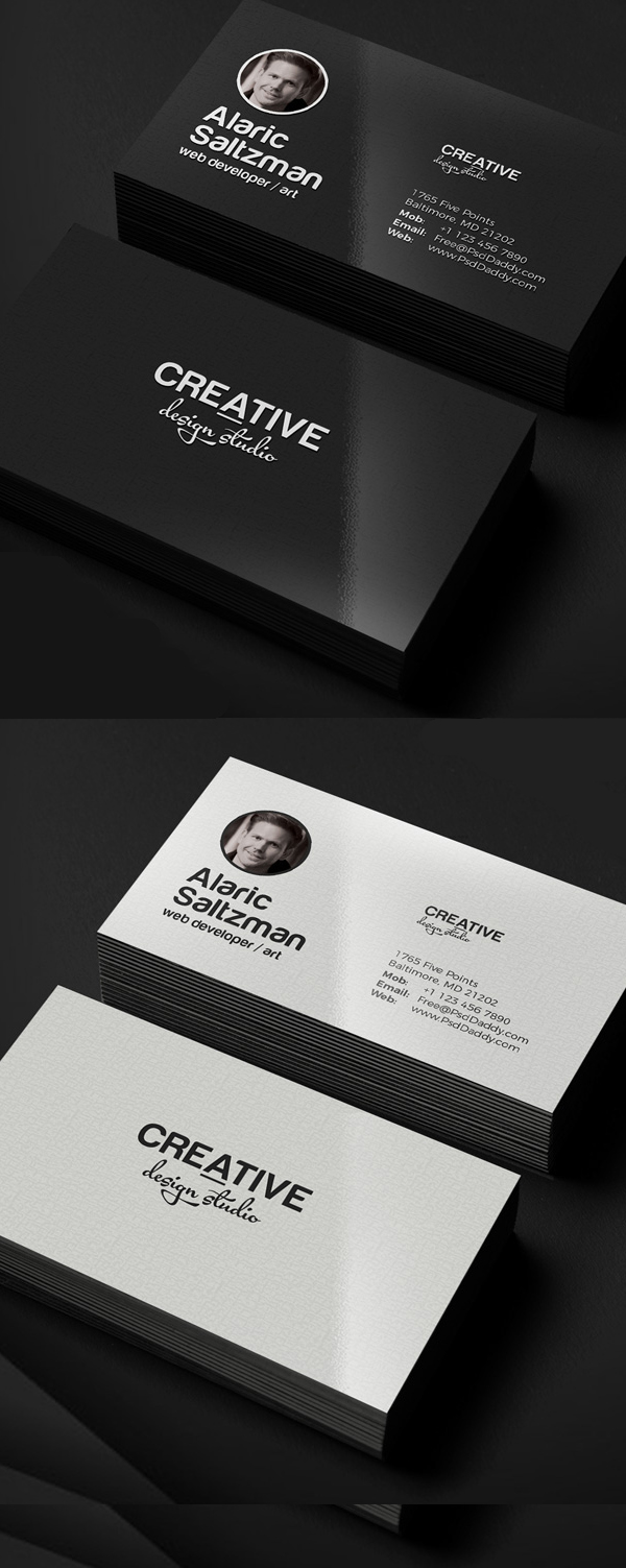 Freebie: Minimal Business Card Template