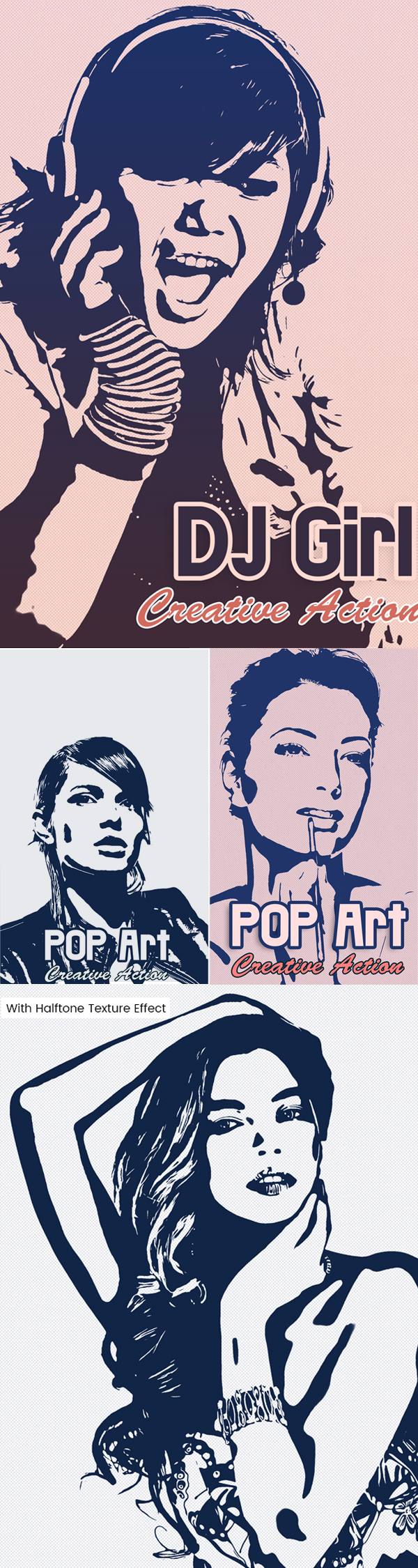 Freebie: Vector Pop Art Photoshop Action