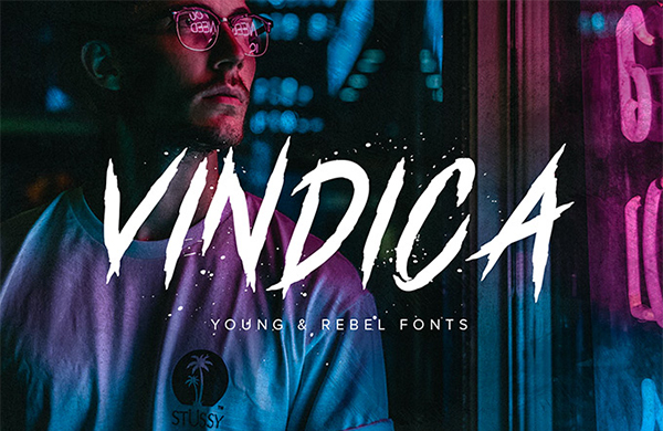Vindica Rebel Free Font