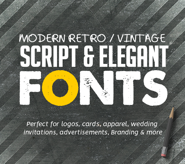 Best Retro Vintage Script Fonts For Designers