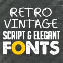 Post Thumbnail of Best Retro / Vintage Script Fonts for Designers