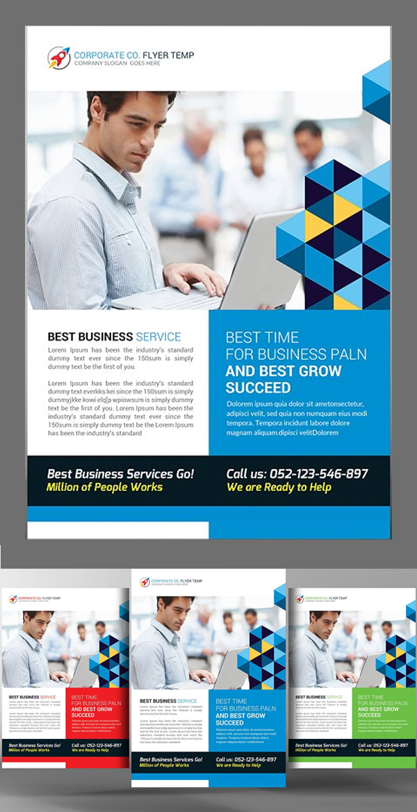Corporate Business Flyer Templates  Design  Graphic Design Junction