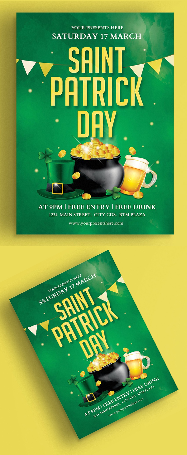 Saint Patrick Flyer Vol.2