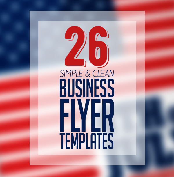 26 Corporate Business Flyer Templates