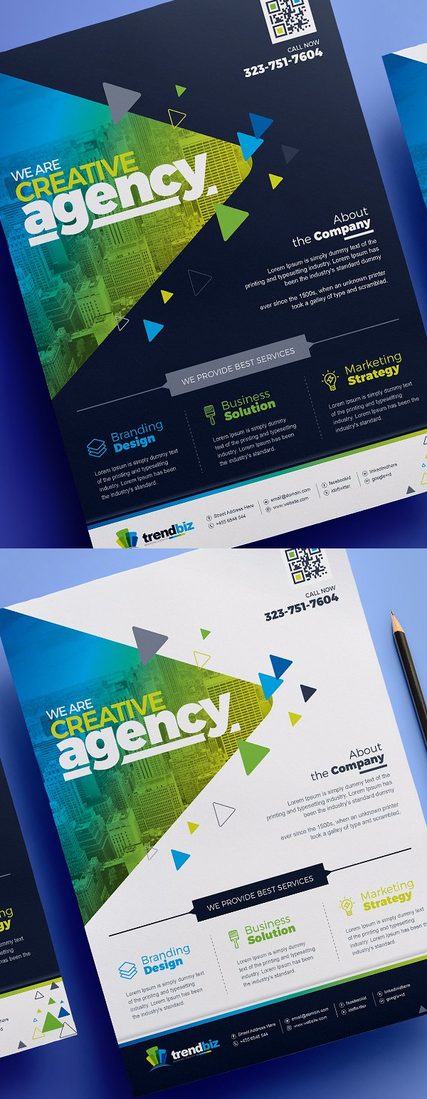Flyer templates clean professional business flyer templates corporate business flyer template wajeb Gallery