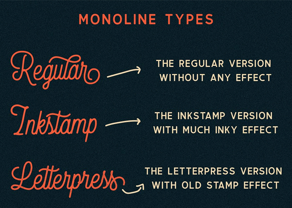 Thirdlone Font Duo & Vector Pack