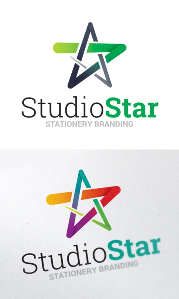 Star Symbol Logo Template