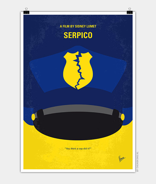 Serpico  Minimal Movie Posters - 18