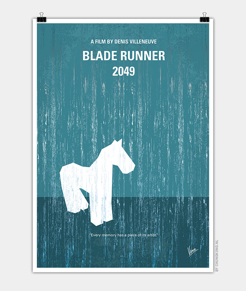 Blade runner 2049 Minimal Movie Posters - 28