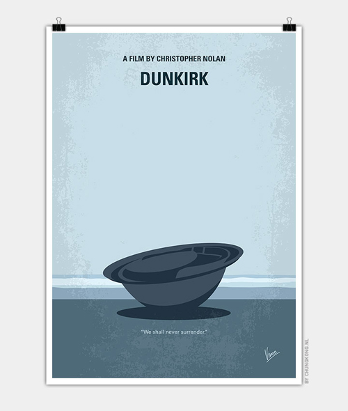 My Dunkirk Minimal Movie Posters - 3