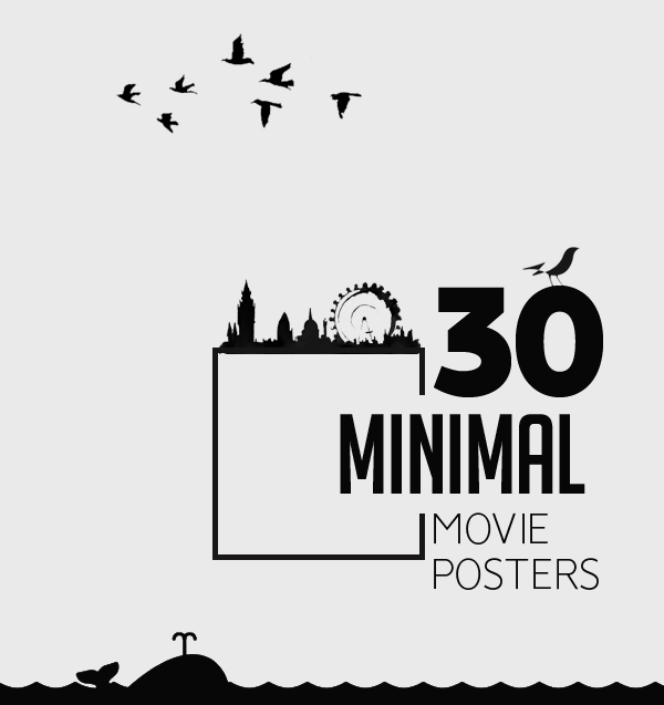30 Minimal Movie Posters for Inspiration