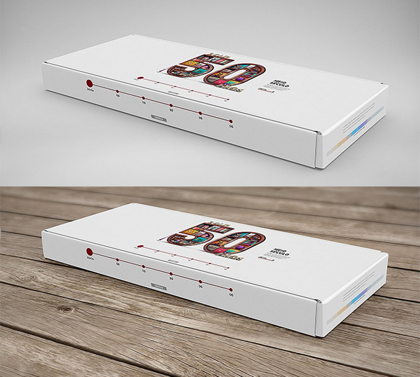 3D Box / Package Mock-Up 3