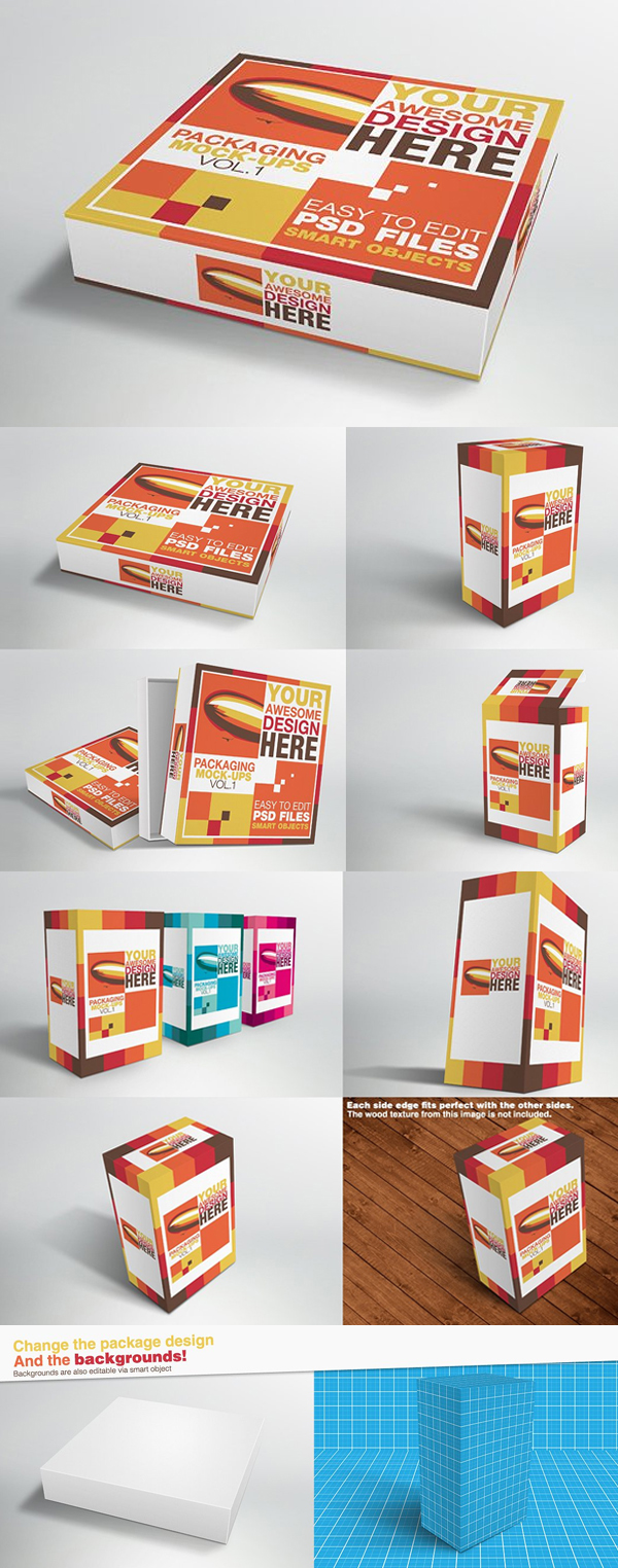 Packaging Mock-ups