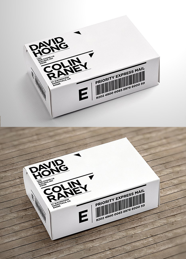 Oblong Package Mock-Up 1