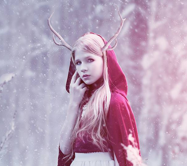 How to Create a Fantasy Winter Portrait in Adobe Photoshop