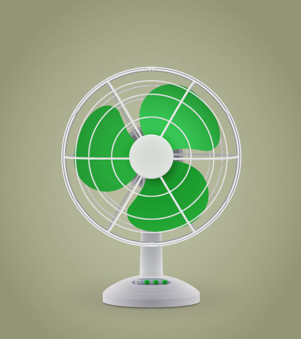 Create an Electric Fan in Adobe Illustrator