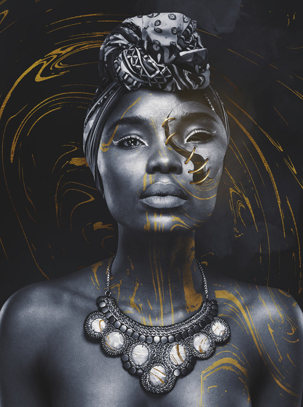 How to Create a Surreal Stitched Portrait in Adobe Photoshop