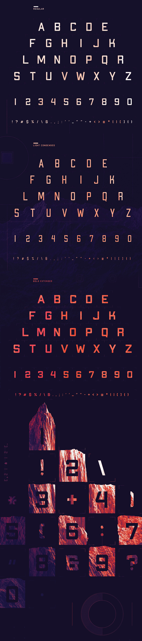 APEX Mk2 Free Font Letters and Numbers