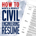 Post Thumbnail of How to Write a Perfect Civil Engineering Resume