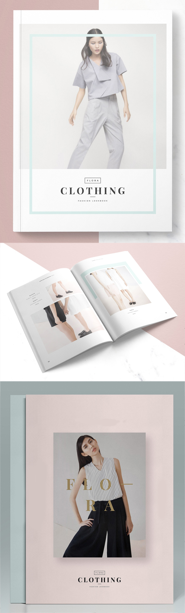 Flora Lookbook Template