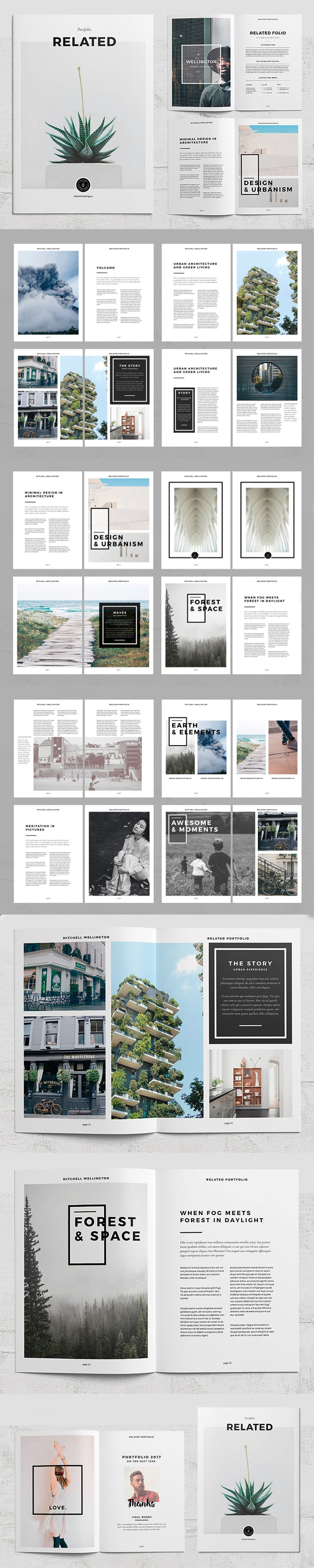 Relevant Photography Portfolio Template