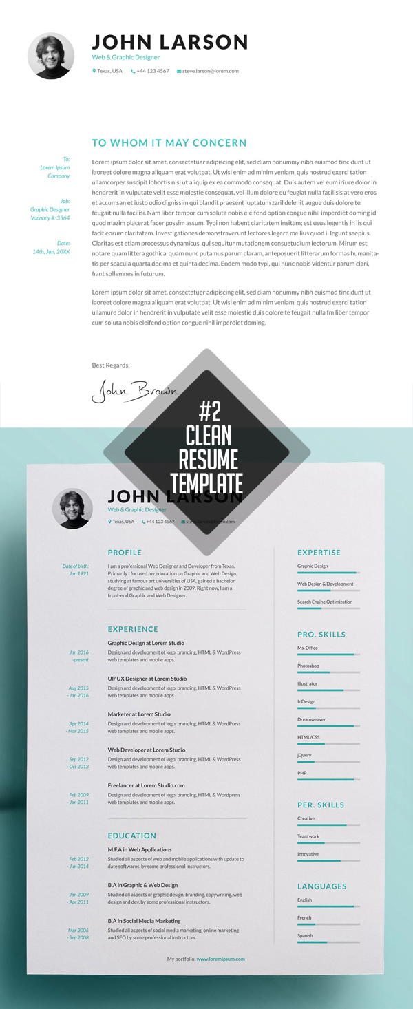 Clean And Minimal Resume Templates Design Graphic Design Junction,Pretty Light Pink Toe Nail Designs