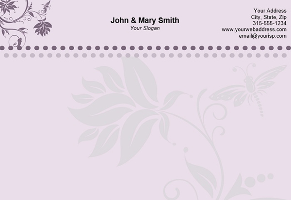 what is a personal letterhead