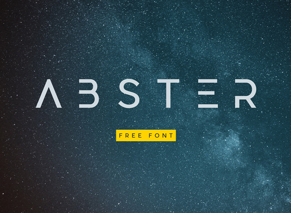 Abster Free Font