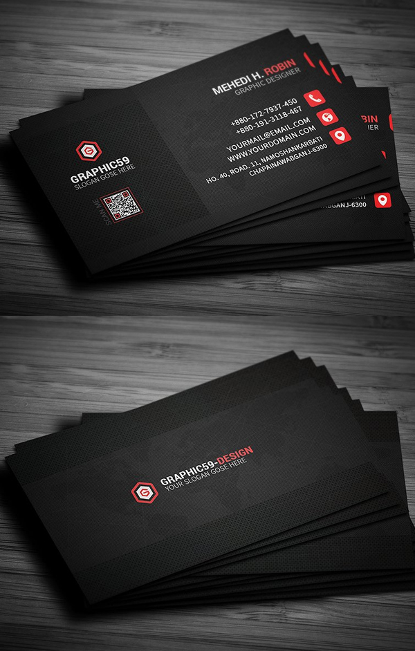 Pixel Business Card Design