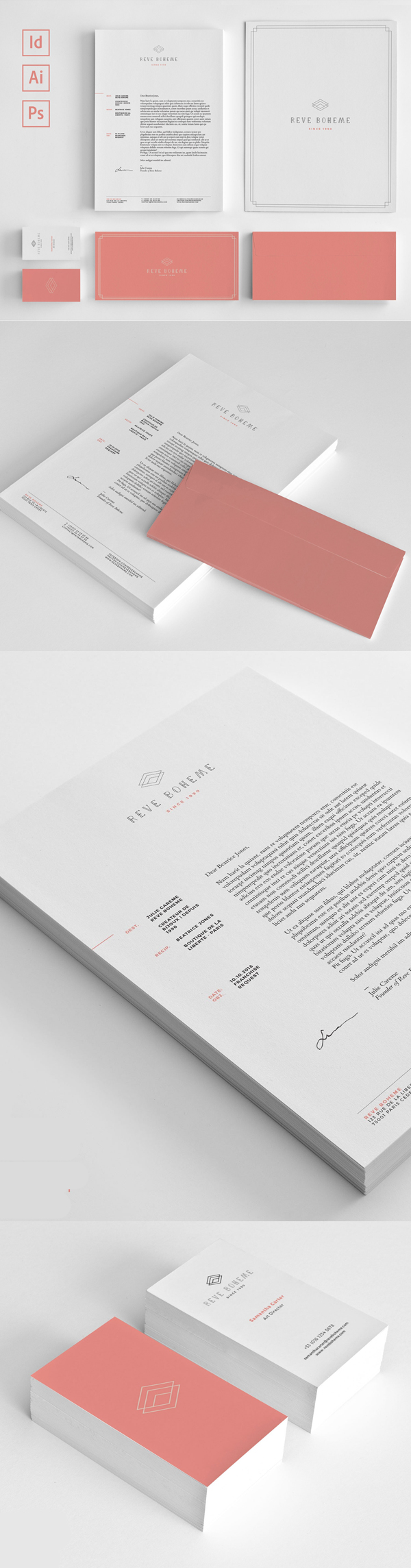 corporate branding stationery templates design graphic design
