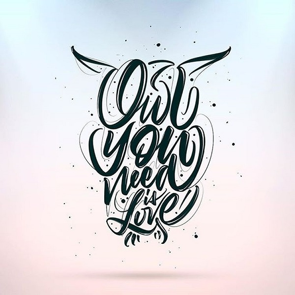 34 Remarkable Lettering and Typography Designs for Inspiration - 34